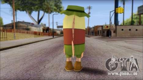 Campguy from Sponge Bob pour GTA San Andreas deuxième écran