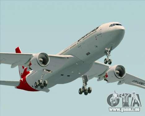 Airbus A330-200 Qantas pour GTA San Andreas vue de côté