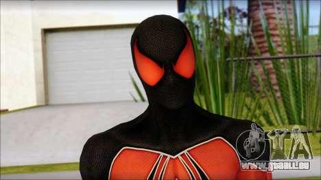 Scarlet 2012 Spider Man pour GTA San Andreas troisième écran