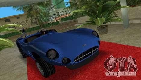 Aston Martin DBR1 für GTA Vice City rechten Ansicht