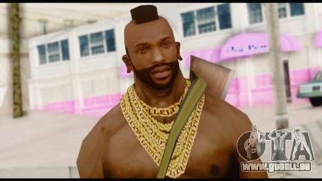 MR T Skin v5 pour GTA San Andreas troisième écran