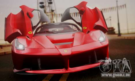 Ferrari LaFerrari F70 2014 für GTA San Andreas Rückansicht