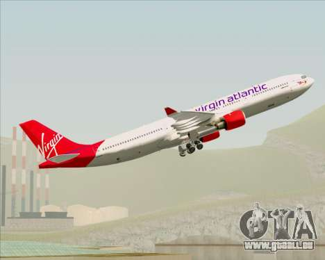 Airbus A330-300 Virgin Atlantic Airways für GTA San Andreas Motor