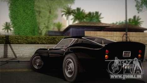 GTA 5 Stinger GT (IVF) pour GTA San Andreas laissé vue