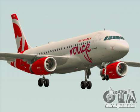 Airbus A319 Air Canada Rouge pour GTA San Andreas