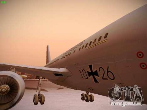 Airbus A310 MRTT Luftwaffe (German Air Force) pour GTA San Andreas vue de dessus
