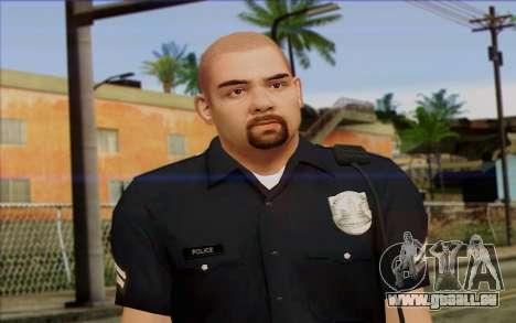 Police (GTA 5) de la Peau 2 pour GTA San Andreas troisième écran