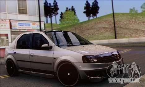 Dacia Logan Hoonigan Edition pour GTA San Andreas