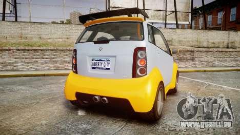 GTA V Benefactor Panto pour GTA 4 Vue arrière de la gauche