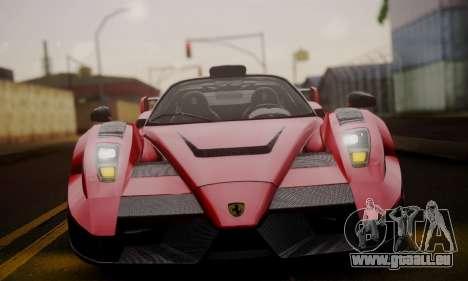 Ferrari Gemballa MIG-U1 pour GTA San Andreas vue de côté