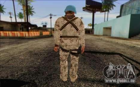 Allemand Artisan De La Paix pour GTA San Andreas deuxième écran