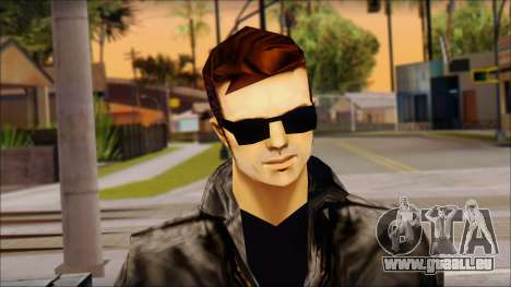 Shades Claude v2 pour GTA San Andreas troisième écran