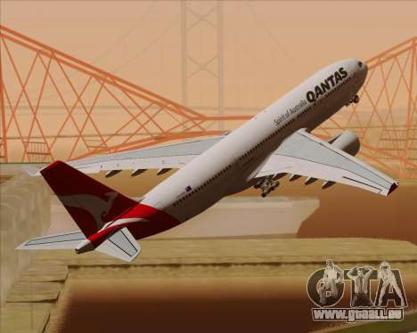 Airbus A330-200 Qantas pour GTA San Andreas moteur