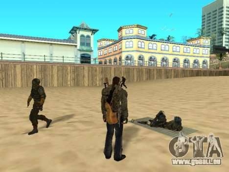 Nouveau tapis sur la plage pour GTA San Andreas deuxième écran