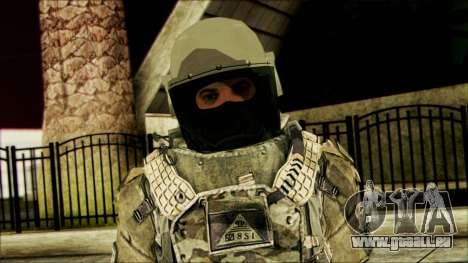 Waldläufer (CoD: MW2) v3 für GTA San Andreas dritten Screenshot