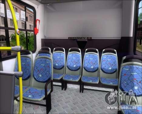 Marcopolo Torino 2007 Volksbus 17-230 EOD für GTA San Andreas Innen