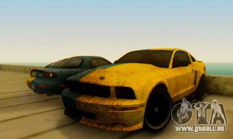 Ford Mustang Shelby Terlingua 2008 UA PJ pour GTA San Andreas