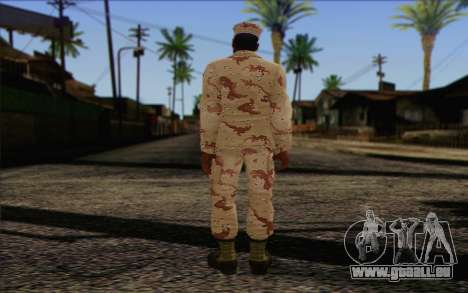 California National Guard Skin 2 pour GTA San Andreas deuxième écran