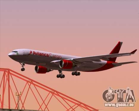 Airbus A330-243F Avianca Cargo für GTA San Andreas