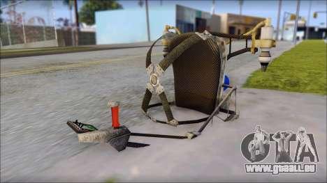 New Jetpack pour GTA San Andreas quatrième écran