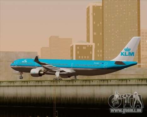 Airbus A330-300 KLM Royal Dutch Airlines für GTA San Andreas Innenansicht