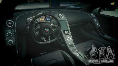 McLaren 650S Spider 2014 [EPM] Yokohama ADVAN v2 pour GTA 4 est une vue de l'intérieur