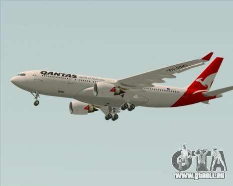 Airbus A330-200 Qantas pour GTA San Andreas vue intérieure