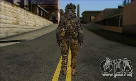 Task Force 141 (CoD: MW 2) Skin 10 für GTA San Andreas zweiten Screenshot