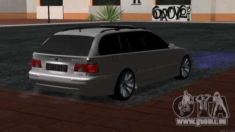 BMW 530d für GTA San Andreas linke Ansicht