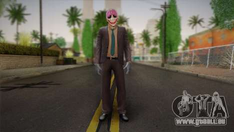 Hoxton From Pay Day 2 v1 für GTA San Andreas
