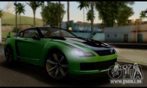 GTA V Elegy RH8 Twin-Turbo (IVF) für GTA San Andreas
