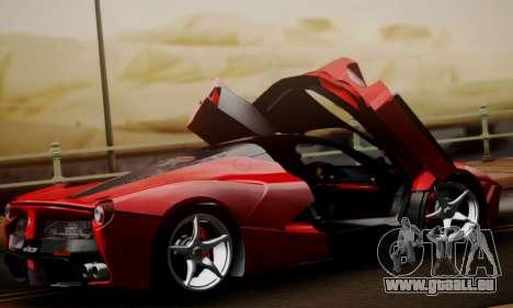Ferrari LaFerrari F70 2014 pour GTA San Andreas vue de dessus