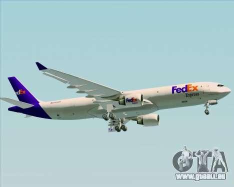 Airbus A330-300P2F Federal Express für GTA San Andreas Seitenansicht