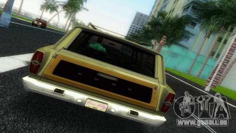 Ford Country Squire pour GTA Vice City sur la vue arrière gauche