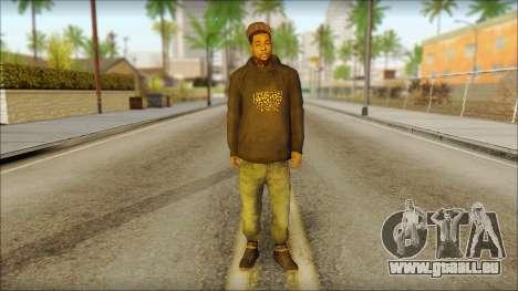 New Grove Street Family Skin v2 für GTA San Andreas