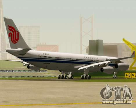 Airbus A340-313 Air China pour GTA San Andreas vue arrière