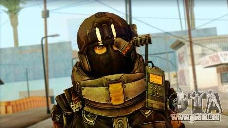 Наемник (Tom Clancy Splinter Cell: Blacklist) pour GTA San Andreas troisième écran