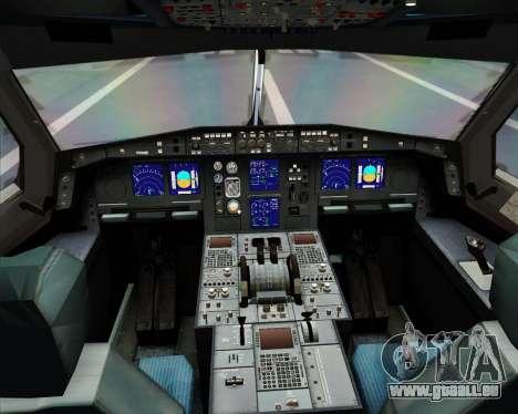 Airbus A330-300 KLM Royal Dutch Airlines für GTA San Andreas Innen