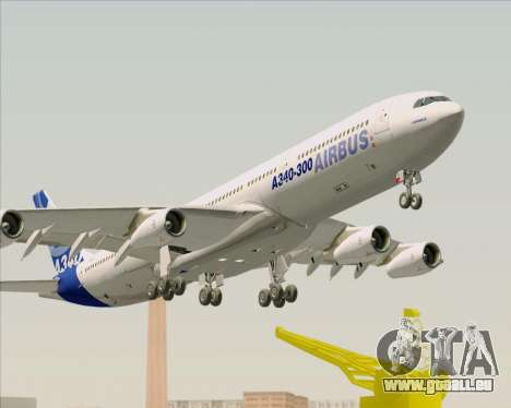 Airbus A340-311 House Colors pour GTA San Andreas