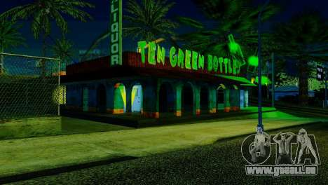 La nouvelle barre en Ganton pour GTA San Andreas troisième écran