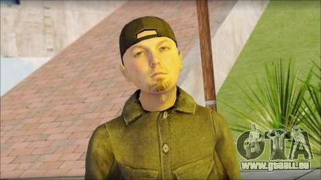 Fred Durst from Limp Bizkit v2 pour GTA San Andreas troisième écran