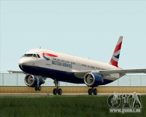 Airbus A320-232 British Airways für GTA San Andreas