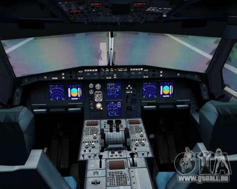 Airbus A330-300 SAS (Star Alliance Livery) für GTA San Andreas Innen