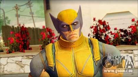 Wolverine Deadpool The Game Cable für GTA San Andreas dritten Screenshot