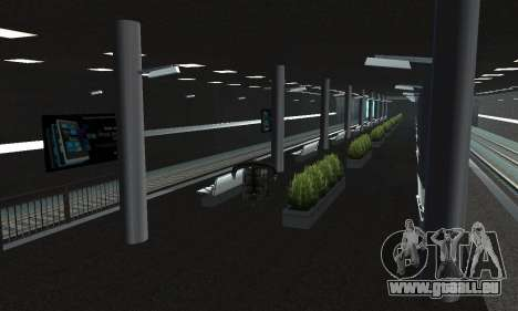 Une nouvelle station de métro de San Fierro pour GTA San Andreas quatrième écran
