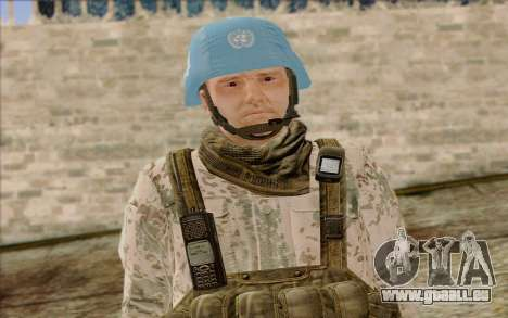 Allemand Artisan De La Paix pour GTA San Andreas troisième écran