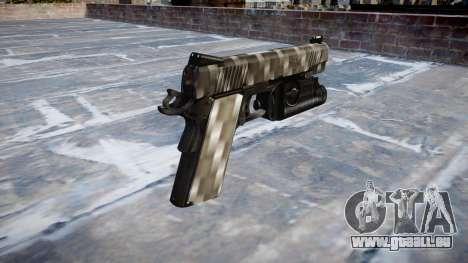 Gun Kimber 1911 Carbon Fiber für GTA 4 Sekunden Bildschirm