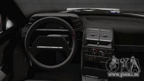 VAZ 2110 Turbo pour GTA San Andreas sur la vue arrière gauche