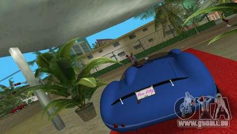 Aston Martin DBR1 für GTA Vice City linke Ansicht