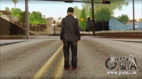 Fred Durst from Limp Bizkit v2 pour GTA San Andreas deuxième écran
